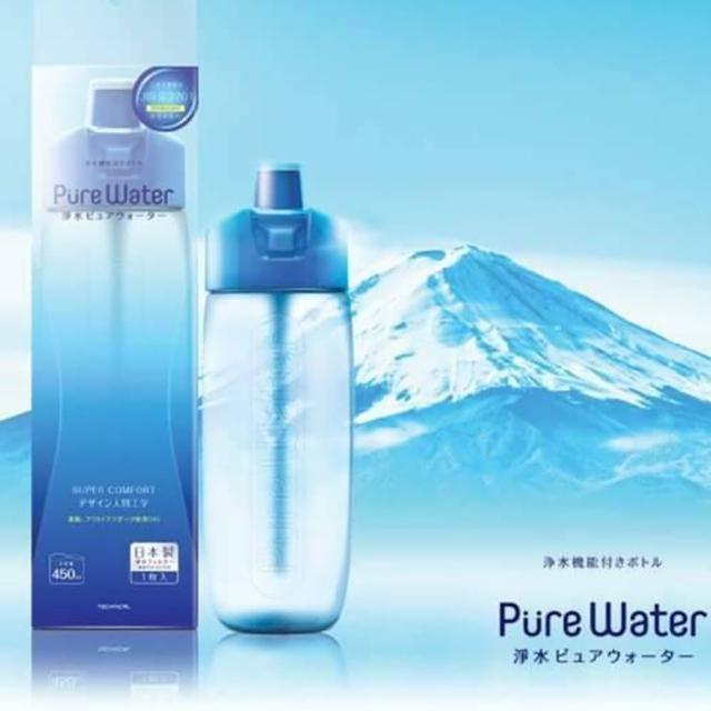 【MO獨家買一送一】TECHNICAL 隨身濾水瓶 475ml(採用日本Kurita濾芯)