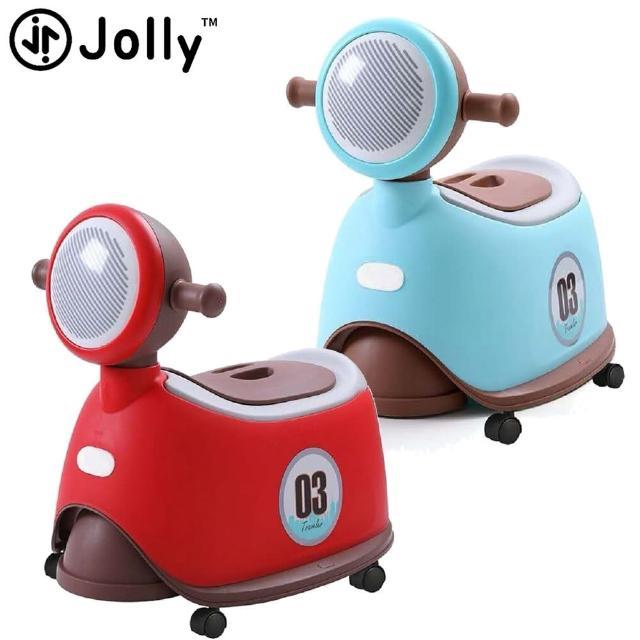 【Mombella & Apramo】英國《Jolly》時尚機車坐便器(JOLLY摩托車便坐學習便器練習便盆學習馬桶機車嚕嚕車)