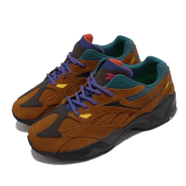 【REEBOK】休閒鞋 Aztrek 96 MU 運動 男鞋 戶外 越野 復古 拚色 麂皮 球鞋穿搭 棕 黑(FV3480)