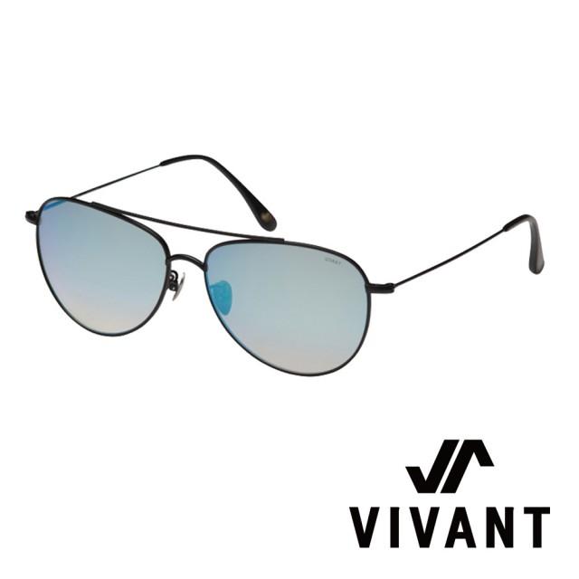 【VIVANT】韓國 率性飛行員框 太陽眼鏡(黑 - voller BLK)