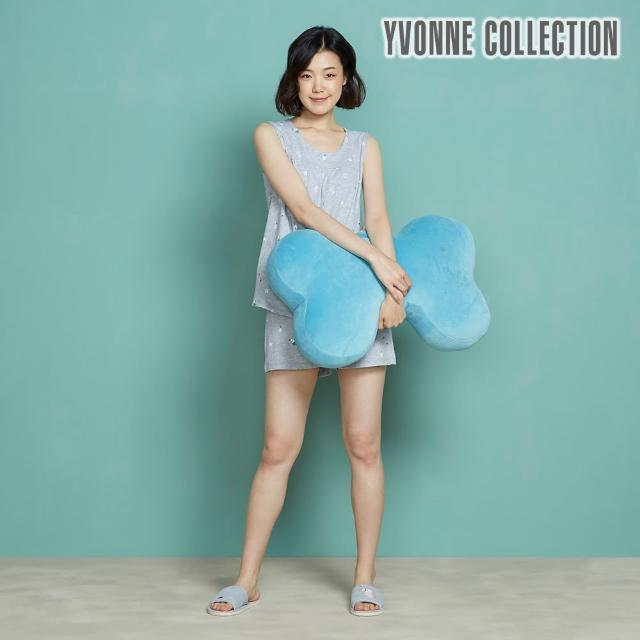 【Yvonne Collection】經典大骨頭抱枕+車用骨頭頸枕(任選)