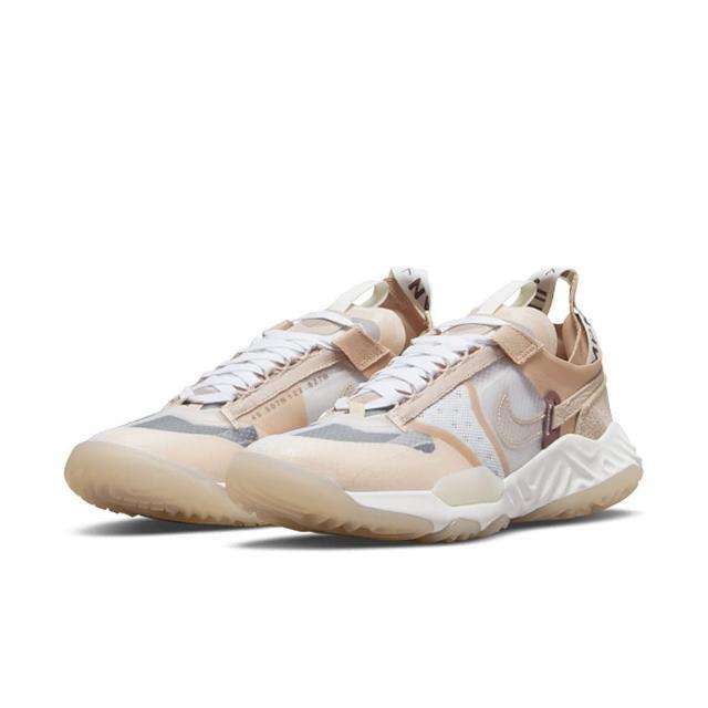 【NIKE 耐吉】慢跑鞋 女鞋 運動鞋 喬丹 緩震 訓練 WMNS JORDAN DELTA BREATHE 奶茶 DN4235-121