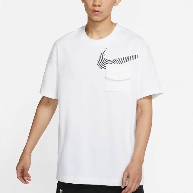 【NIKE 耐吉】上衣 男款 短袖上衣 運動 Sportswear 白 DM7898-100