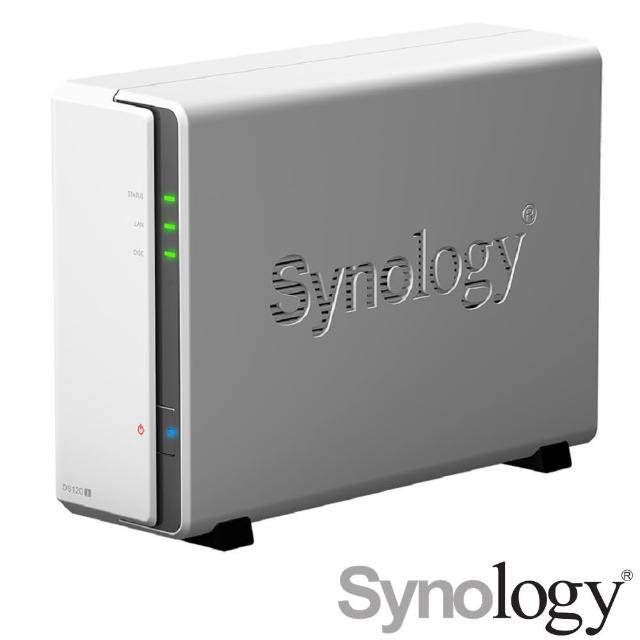【搭WD 紅標 4TB x2】Synology 群暉科技 DS120j 網路儲存伺服器