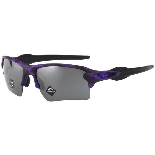 【Oakley】水銀面 太陽眼鏡(黑配紫色)