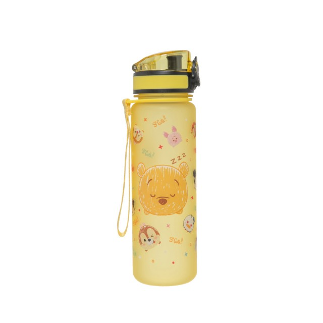 【Disney 迪士尼】小熊維尼水杯500ml-黃色(IMDSB03YL)