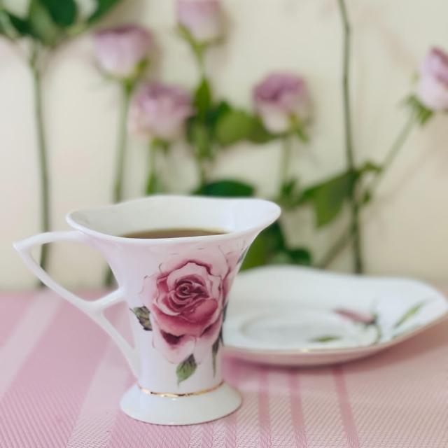 【犀貝瓷】一心 True heart 咖啡杯盤組(165ml 杯+盤 精緻禮品組)