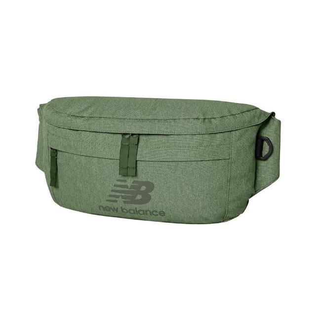 【NEW BALANCE】NB 腰包 小包 運動包 側背包 綠 EQ03061MCDU