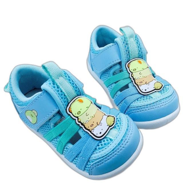【樂樂童鞋】台灣製角落生物寶寶鞋-藍色-B017-1(女童鞋 男童鞋 寶寶鞋 學步鞋)