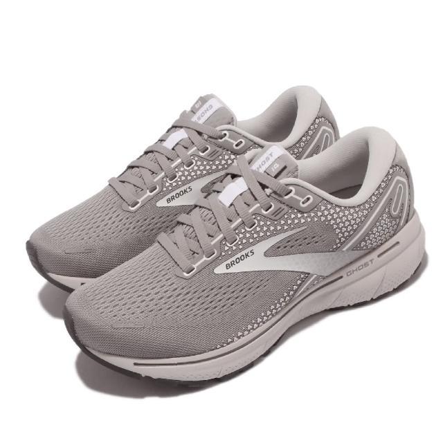 【BROOKS】慢跑鞋 Ghost 14 寬楦 運動休閒 女鞋 路跑 避震 合腳 穩定 彈力 灰(1203561D089)