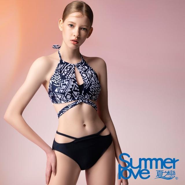 【Summer Love 夏之戀】泳裝 大女比基尼二件式(E21709)