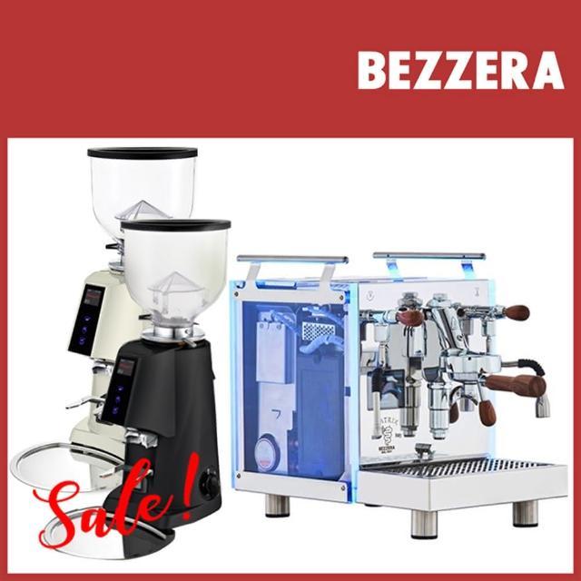 【BEZZERA】R Matrix MN 半自動咖啡機-手控版 110V+Fiorenzato F4E NANO 磨豆機 110V(HG1065+HG0941)