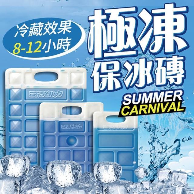 【Dodo house 嘟嘟屋】極凍保冰磚-670g 2入(保冰/保冷劑/冷凍/保鮮)