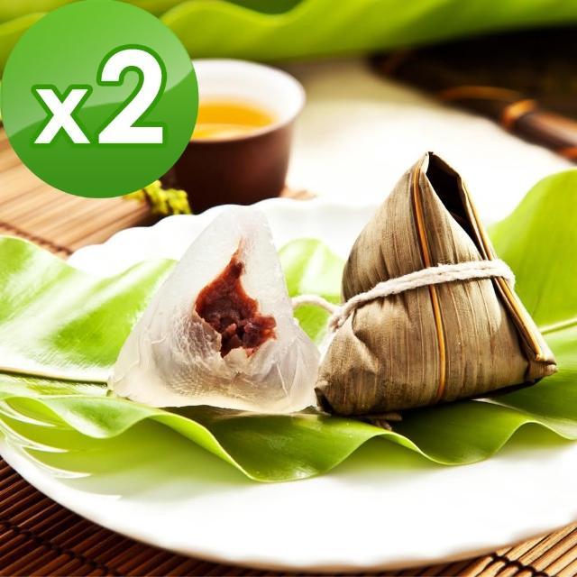 【樂活e棧】包心冰晶Q粽子-紅豆2包(6顆/包)