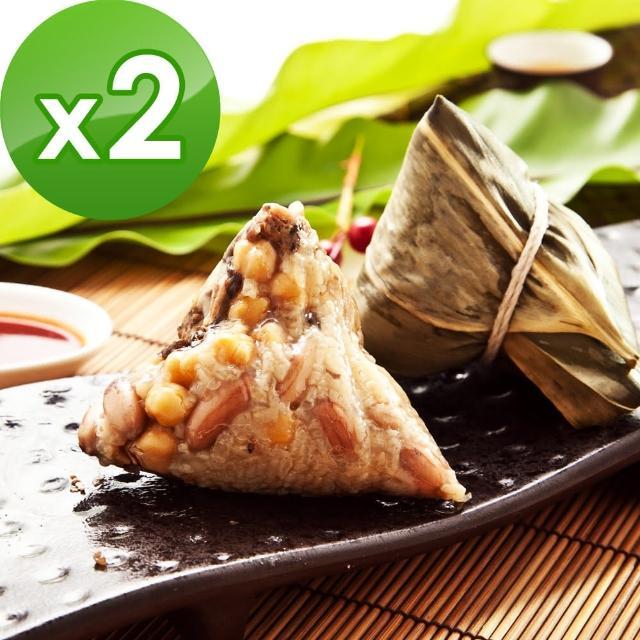 【樂活e棧】南部素食土豆粽子2包(6顆/包)