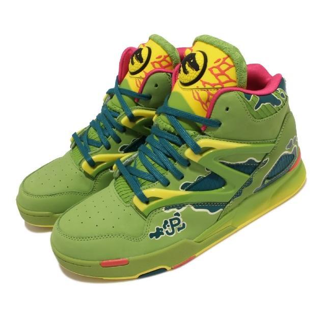 【REEBOK】籃球鞋 Pump Omni Zone II X 男鞋 Jurassic Park 侏儸紀公園 聯名 綠(GY0549)