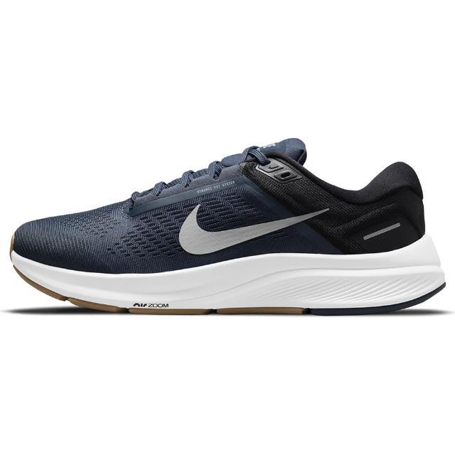 【NIKE 耐吉】慢跑鞋 Zoom Structure 24 男鞋 輕量 透氣 舒適 避震 路跑 健身 藍 白(DA8535400)