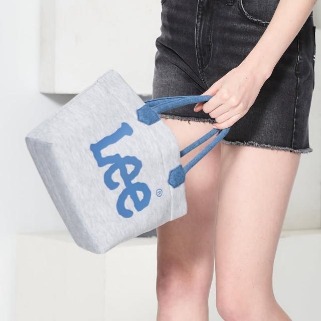 【Lee】Logo印花 小手提袋-海軍藍