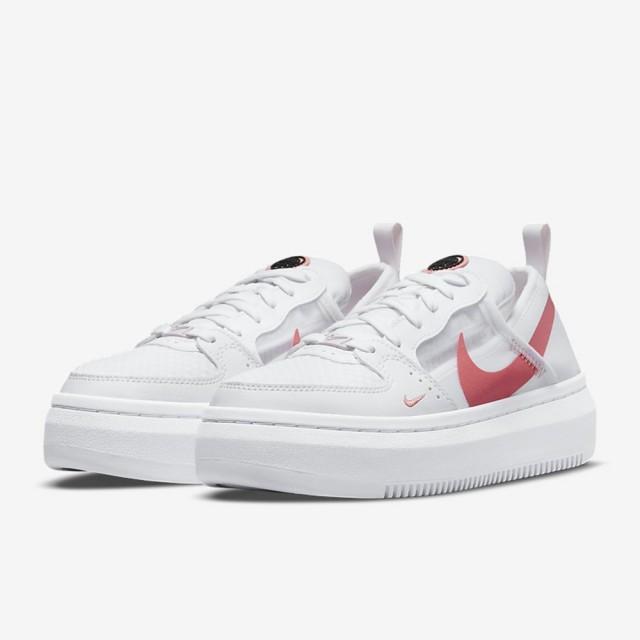 【NIKE 耐吉】休閒鞋 W NIKE COURT VISION ALTA TXT 女 白(CW6536101)