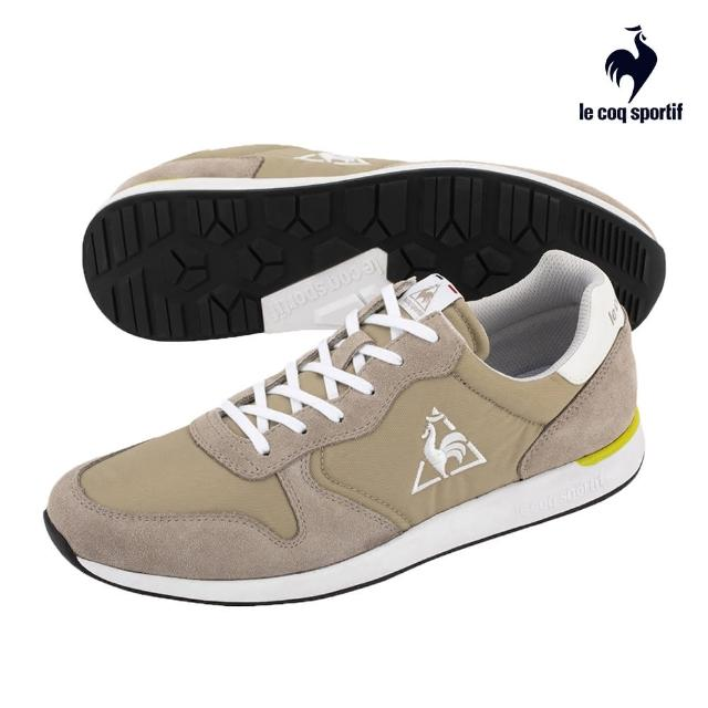 【LE COQ SPORTIF 公雞】運動鞋 休閒鞋 女鞋-棕色-LJN7320582
