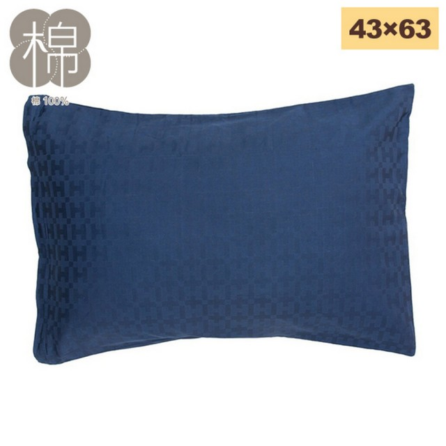 NITORI 宜得利家居【NITORI 宜得利家居】純棉枕套 SATIN GEOMETRIC 43×63(純棉 枕套 SATIN GEOMETRIC)