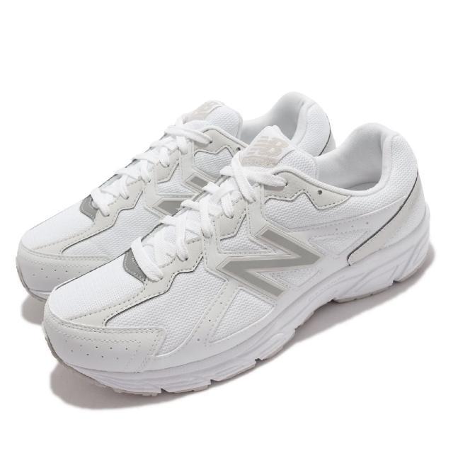 【NEW BALANCE】慢跑鞋 480 V5 4E 超寬楦 男女鞋 紐巴倫 輕便跑鞋 耐磨 基本款 情侶鞋 白 銀(W480KW54E)