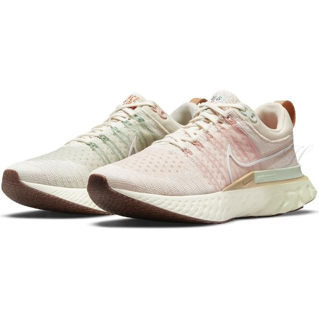 【NIKE 耐吉】慢跑鞋 女鞋 運動鞋 緩震 W REACT INFINITY RUN FK 2 粉白 DM7193-711